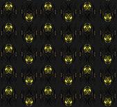 Blomma gul dekorativa smidig konsistens — Stockvektor
