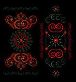 Flower pattern ornament — Stock Vector
