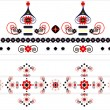Royalty-Free Stock Vektorfiler: Ornament pattern decorative with flower