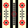 Royalty-Free Stock Vektorfiler: Flower pattern vertical ornament