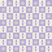 Kwadrat tekstura kwiat — Wektor stockowy