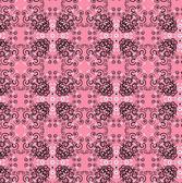 Vzor květina bezešvá textura — Stock vektor
