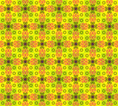 Seamless texture with flower pattern — Stock Vector