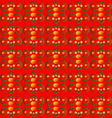 Pattern with flower seamless texture — Stock Vector