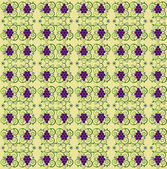 Pattern with grape seamless texture — Stock Vector