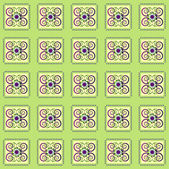 Pattern with flower seamless texture — Stockvektor