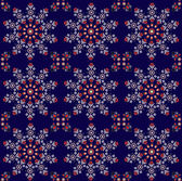 Pattern with flower seamless texture — Stockvector