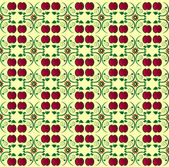 Pattern with apple seamless texture — Cтоковый вектор