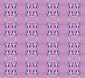 Patroon met iris naadloze textuur — Stockvector