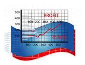 Business diagram — Stockvektor