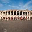Famous arena in Verona - Stock Photo
