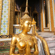 A kinaree, a mythology figure, in the Grand Palace — 图库照片