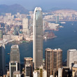 Hong Kong city view from Victoria peak — Stock Photo