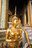 A kinaree, a mythology figure, in the Grand Palace — Stock Photo