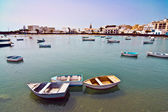 Charco de San Gines, the laguna at the city of Arrecife — Stock Photo