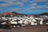 View to Uga, rural village in Lanzarote — Stock Photo