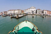 Venice, entering the station marcus place from seaside — Stock Photo