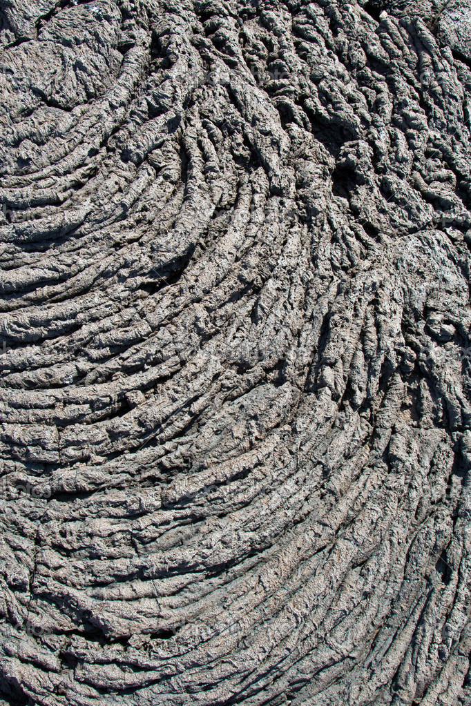 Cold volcanic flow in detail  Stock Photo #5519637
