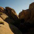 Постер, плакат: Scenic washed out Jumbo rocks in the National Park