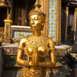 A kinaree, a mythology figure, in the Grand Palace in Bangkok — Stock Photo #5520753
