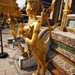 A kinaree, a mythology figure, in the Grand Palace in Bangkok — Stok fotoğraf
