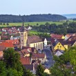 "View to romantic village of Shillingsfuerst on ""romantic street"" — Foto de Stock"