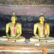 Inside of Rock Temple in Dambulla, Sri Lanka — Photo
