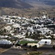 View to Uga, rural village in Lanzarote — Foto Stock