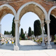 Cemetry island of San Michele — Stock Photo