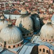 Overlooking the marcus church and the city of venice - Stock fotografie
