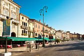 Central market place in Verona — Stock Photo