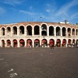 World famous amphi theater ,old roman arena from verona from out — Stock fotografie