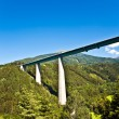 Europe Bridge at Brenner Highway - Stock Photo