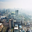 View across Bangkok skyline — Stock Photo