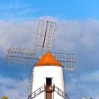 Royalty-Free Stock Photo: Beautiful windmill in lanzarote