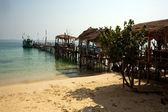 Nádherná pláž na ostrově koh samet — Stock fotografie