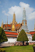 Berühmte prangs im grand palace in bangkok — Stockfoto