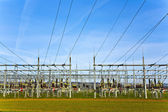 Electrical power station with sky — Stock Photo