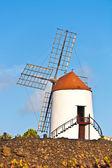 Beautiful windmill in lanzarote — Stock Photo