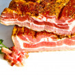 Fresh tasty ham in detail — Stock Photo #5542886