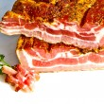 Fresh tasty ham in detail — Stock Photo #5542886