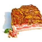 Fresh tasty ham in detail — Stock Photo #5542887