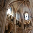 Famous gothic dome in Limburg from inside — Foto Stock
