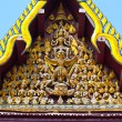 Roof of monastery Wat Na Phramane in Ajutthaya - Stock Photo