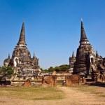 有名な寺院区域ワット プラ シー サンペット — ストック写真
