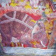 Religious Paintings Inside of Rock Temple in Dambulla — Stock fotografie