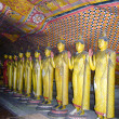 Inside of Rock Temple in Dambulla, Sri Lanka — Stock Photo