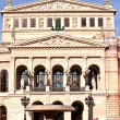 Famous Opera house in Frankfurt - Stockfoto