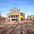 Famous Opera house in Frankfurt - Stock Photo
