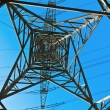 High voltage tower on a background with sky — Stock Photo #5552773